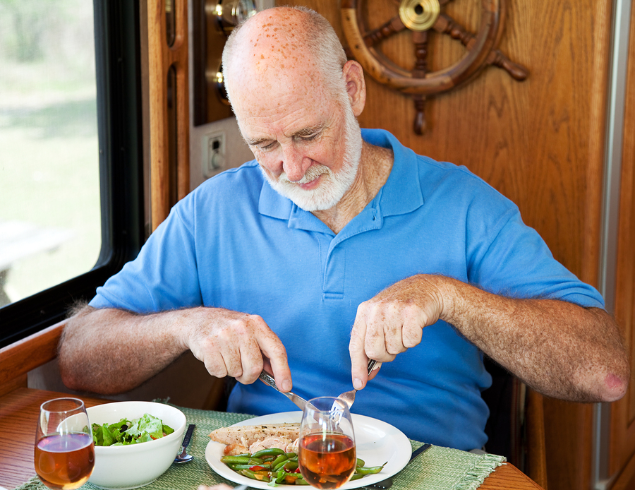 Rv Senior Man - Healthy Eating