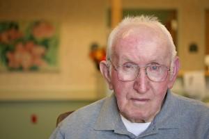 Nursing Home Portrait (Serious Look)