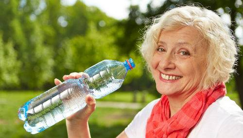 Dehydration in Seniors