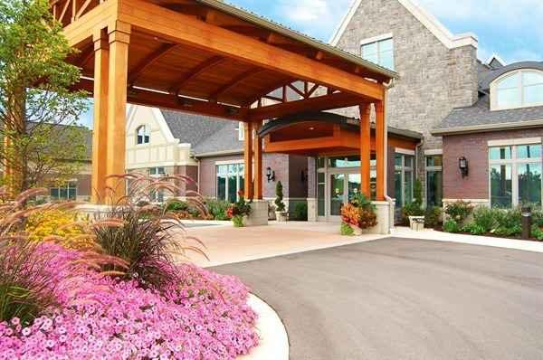 Exterior: Brookcrest Rehab & Life Center In Grandville, MI