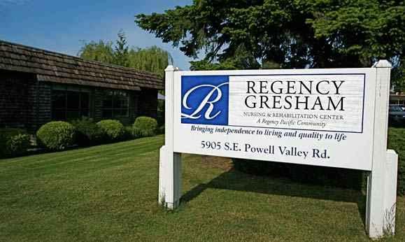 Regency Gresham Nursing and Rehabilitation Center in Gresham, OR