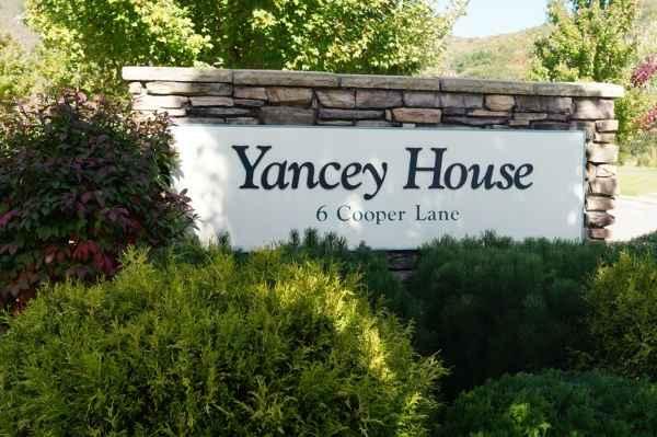Yancey House in Burnsville, NC