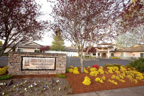 Timberwood Court Memory Care Community in Albany, OR