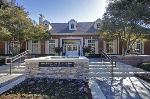 Preston Place Senior Living in Plano, TX