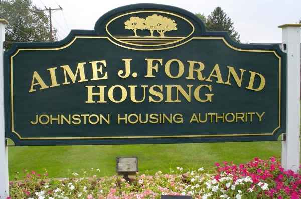 Aime J. Forand Complex in Johnston, RI