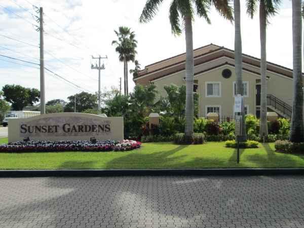 Sunset Gardens in Miami, FL