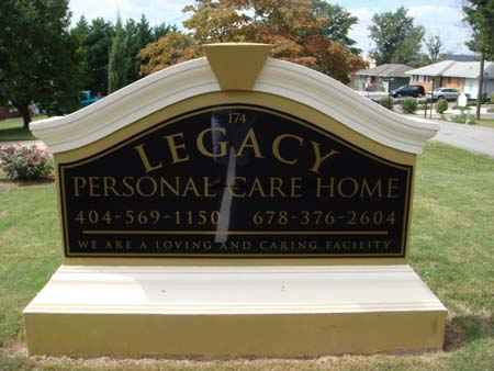 Legacy Personal Care Home in Lawrenceville, GA