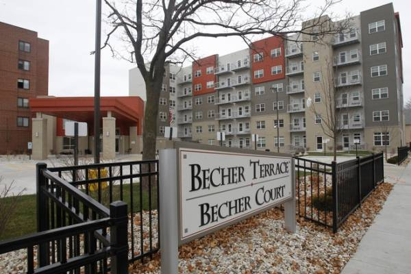 Becher Terrace Apartments in Milwaukee, WI